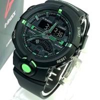 Jual Jam tangan sport G-Shock G SHOCK GA500 black lisd green/Army Murah