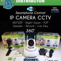 IP Camera CCTV Dual Antenna 360 derajat SONY CMOS SENSO Murah