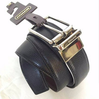 Kualitas Tertinggi JUAL BELT COACH MEN CUT TO SIZE REVERSIBLE BLACK CR