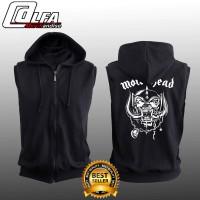 Jaket Rompi Sweater Vest Hoodie Zipper MOTORHEAD MOTOR HEAD