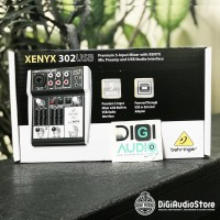 Behringer Xenyx 302USB ( 302 USB ) Mixer 3 channel with soundcard