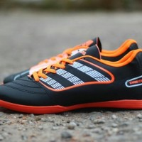 Free Bonus !!! Sepatu Futsal Adidas Predator Classic - Black Orange