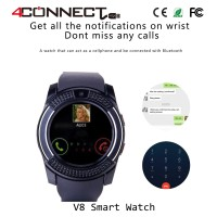 harga V8 Smartwatch With Gsm And Pedometer Function Tokopedia.com
