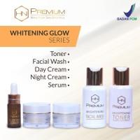 Jual Cream HN Premium BPOM Whitening Glow Series 5in1 Murah