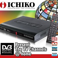 SET TOP BOX ICHIKO DVB-8000 DVB-T2 [Alat penerima Siaran TV digital]