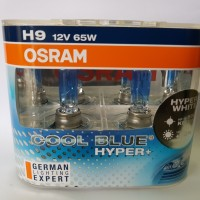 Osram Cool Blue Hyper Plus / CBH+ H9 dijamin Original termurah 12v 65w