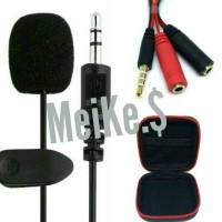 harga Mic Clip On For Android, Iphone - Smartphone 3.5mm Tokopedia.com