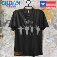 pakaian baju kaos band the beatles people gildan softstyle