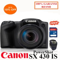 CANON POWERSHOT SX430 IS Kamera Digital Prosumer Promo