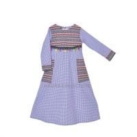 baju muslim/gamis anak perempuan/baju Tunik Anak/Dress Anak