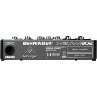 Behringer XENYX 802 8-Channel Compact Audio Mixer Berkualitas