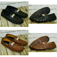 Sepatu Casual Slop Moccasin Moofeat Rajuro Leather