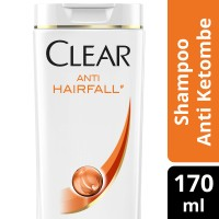 CLEAR SHAMPOO ANTI KETOMBE ANTI HAIR FALL 170ML