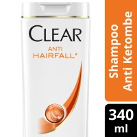 CLEAR SHAMPOO ANTI KETOMBE ANTI HAIR FALL 340ML