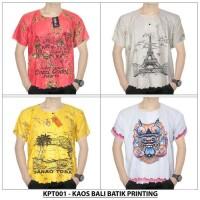 A273 Kaos Bali Batik Printing - (KPT001)