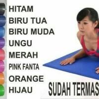 Premium Matras Yoga / Yoga Mat 6mm 6 Mm