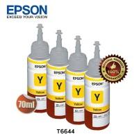 Epson Tinta Botol Set Original T6644 - Yellow 4pcs