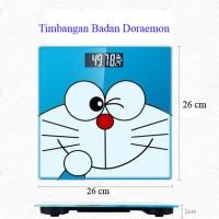 Timbangan Doraemon Digital Timbangan Berat Badan Karakter Lucu Portabl
