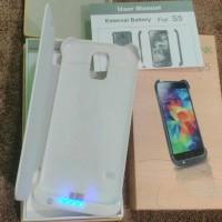 Jual Murah banget.. Power Case Samsung Galaxy S5 Flip Cover + Power Bank 32 Murah