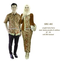 harga Couple Batik Sarimbit Kebaya Baju Pesta Pasangan Seragam 536 Tokopedia.com