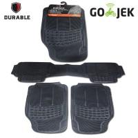 harga Durable Karpet Mobil Mercy Tiger 3pcs  Karet Pvc - Black Tokopedia.com