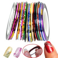 1mm Nail Roll Tape (Random Colors)