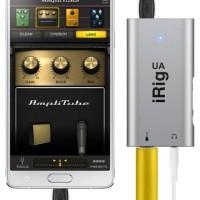 IK Multimedia iRig UA (Original) - Guitar Effect Interface for Android