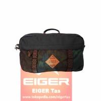 Tas Pinggang Eiger 3436 Brown - Waist Bag - Original