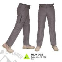 celana cargo/pdl, celana gunung/lapangan anti air, celana panjang 028