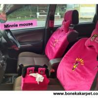 Jual Sarung Jok Mobil Universal 6 In 1 - Bantal Mobil - Car Set Mobil Murah