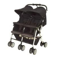 Combi Spazio Duo Black / Stroller Twins / Kereta Dorong Bayi Kembar