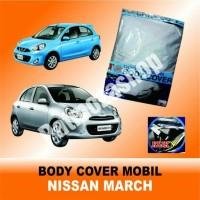Body cover (Sarung Penutup) NISSAN MARCH untuk Mobil Kesayangan