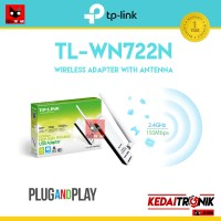 TP-LINK TL-WN722N Wireless Adapter/ USB Dongle (Penerima Wifi TPlink)
