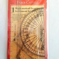 Penggaris Menggambar Instrument Matematika Set Faber-Castell