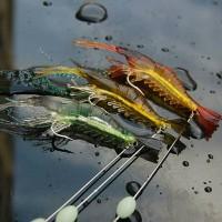 FISHING SOFT LURE UMPAN PANCING UDANG BESAR MANCING IKAN DI LAUT DANAU