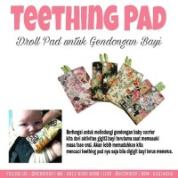 Jual Teething Pad Murah Gigitan Bayi Gendongan Ergo Baby Carrier Murah