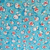 Bed cover set katunnlokal halus Doraemon Size 160x200/180x200