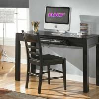 set meja-kursi komputer jati 120x60x75