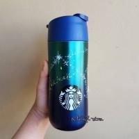 Jual Starbucks Tumbler Siren Sparkling Blue Commuter Mug Autumn 2017 Murah