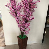 Jual Pohon hias bunga sakura/bunga sakura/bunga hias plastik Murah