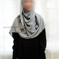 Hijab Telinga Stetoskop Dokter