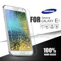 Tempered Glass Samsung Galaxy E5 Screen Guard Anti Gores Kaca