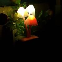 Jual Lampu Tidur Led Avatar Jamur Dengan Sensor Cahaya Murah
