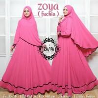 Baju Terusan Wanita Muslim Longdress Zoya