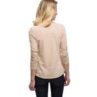 Branded Esprit Cotton/Linen Top With Lurex - Skin Beige