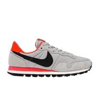 Branded Nike Air Pegasus 83-Wlf Gry/Blk-Brght Crmsn-Dp Grn