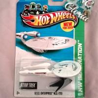 Hot Wheels USS Enterprise NCC 1701 Star Trek New2013 Hotwheels pesawat