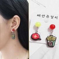 Anting Korea Tusuk Silver Sterling s925 earrings FF