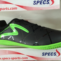 sepatu futsal specs diablo in black opal green 2016 new color original