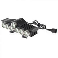 TrustFire LED Bicycle Light 7x Cree XM-L2 3200 Lumens - TR-D013 Hitam